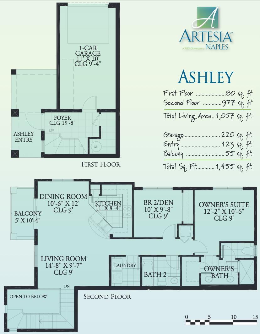 ashley floorplan