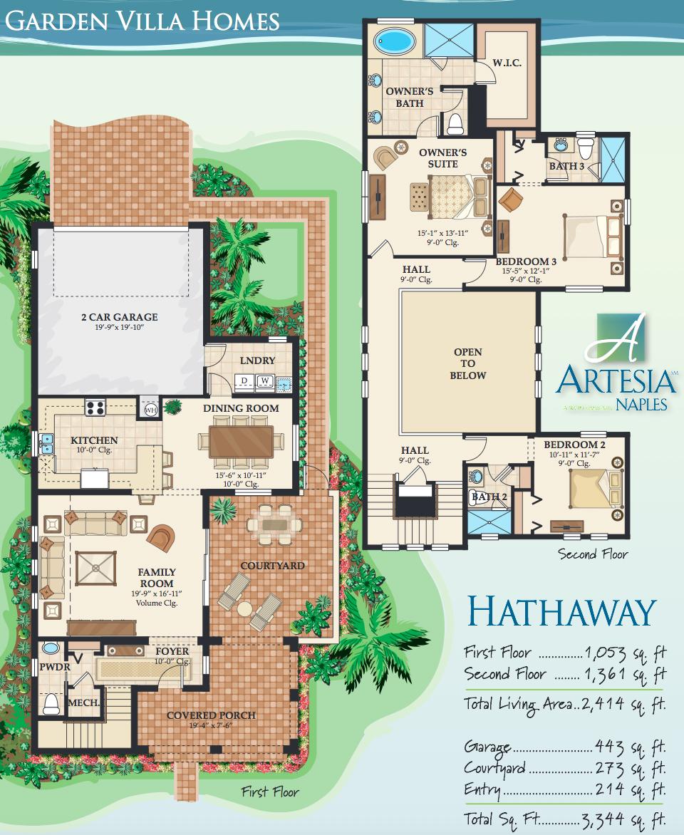 hathaway floor plan