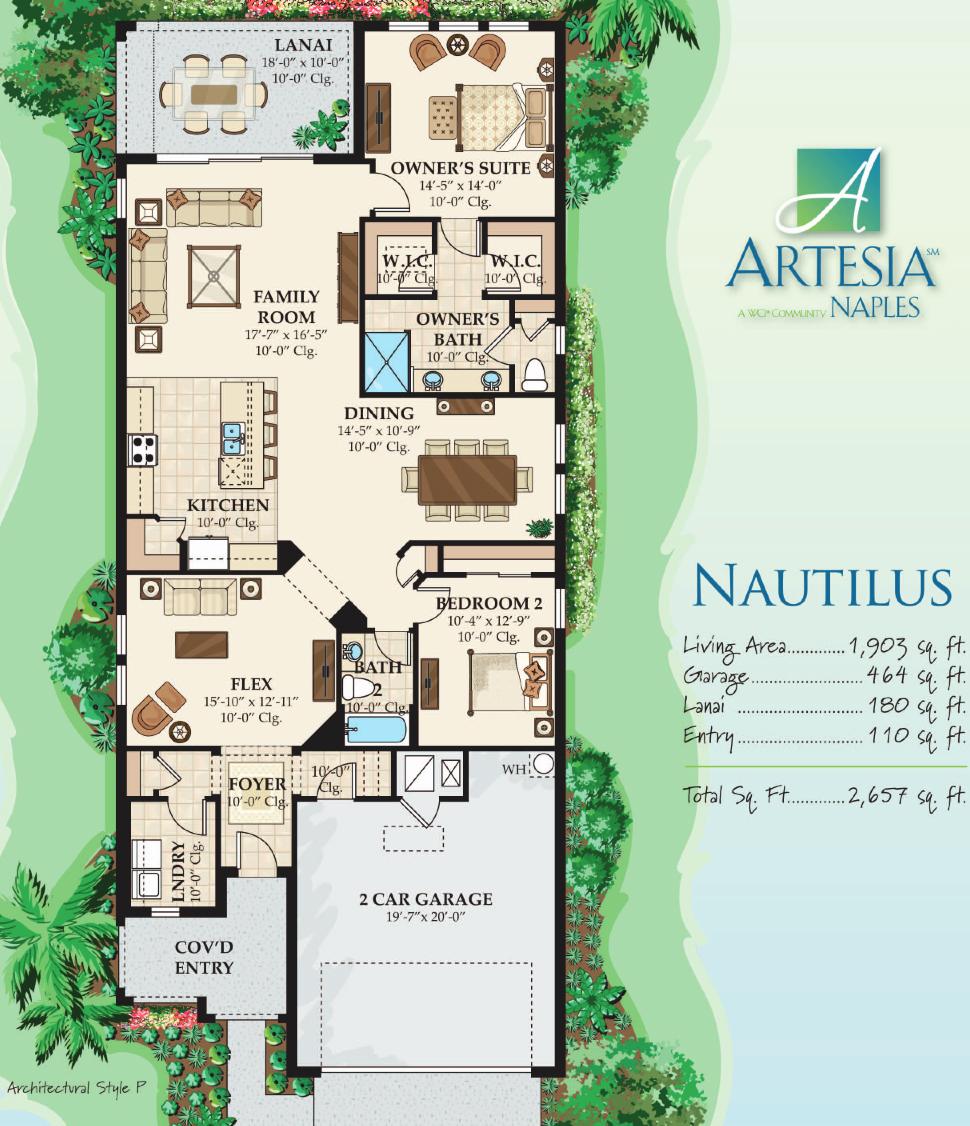 nautilus floor plan
