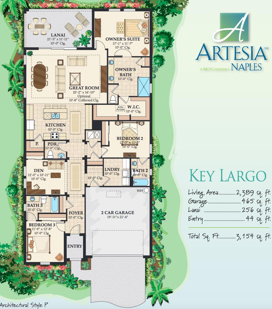 Key Largo floor plan