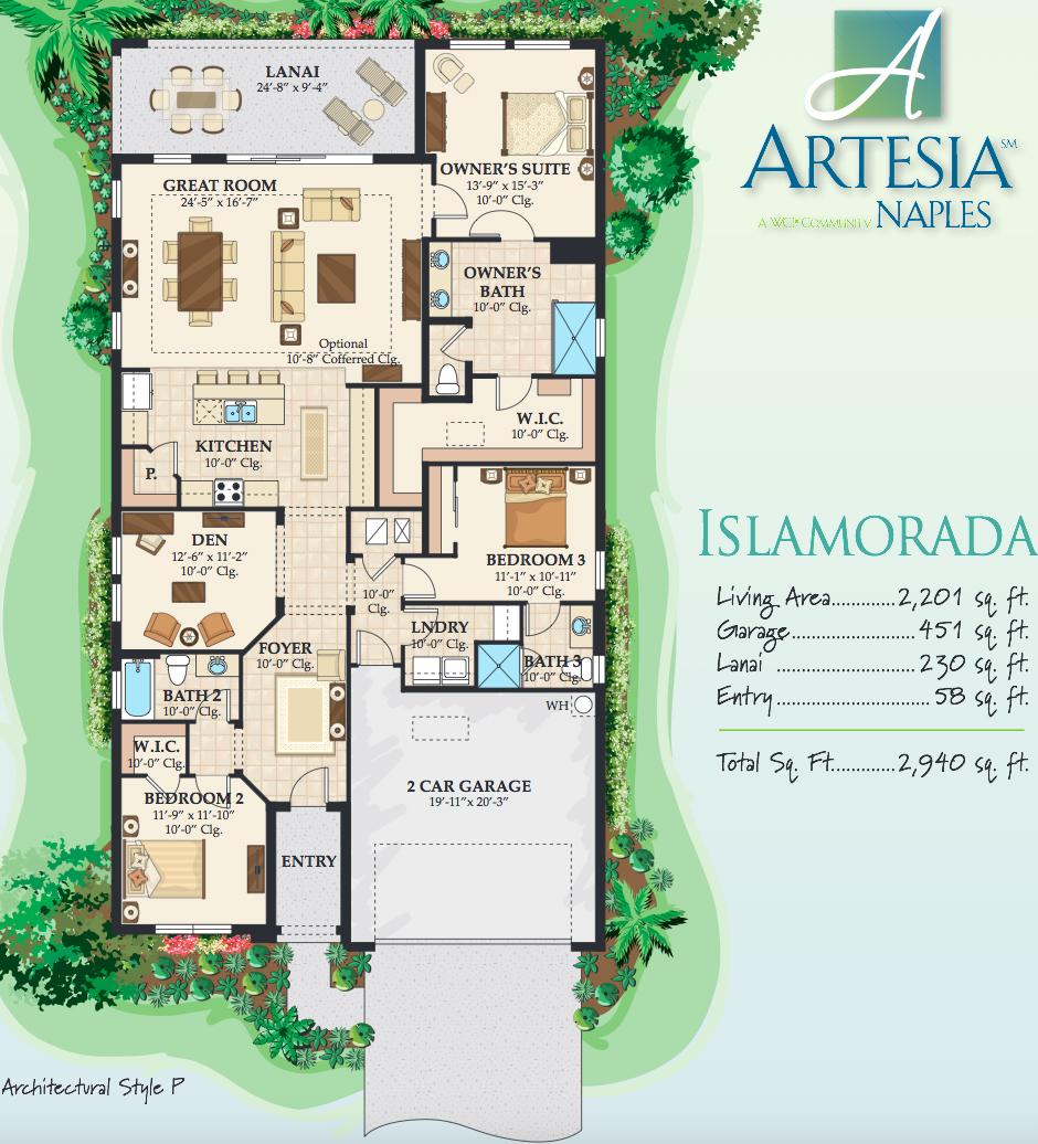 islamorada floor plan