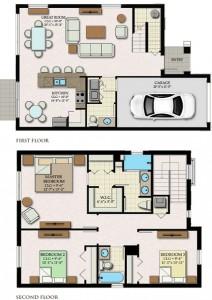 Anaheim Floor Plan
