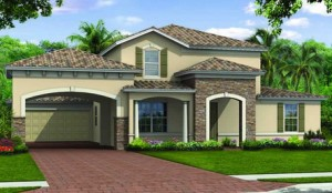 Hampton Village of Ave Maria home designs