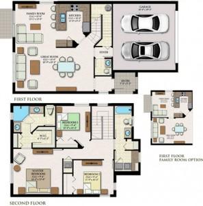 Corona Floor Plan