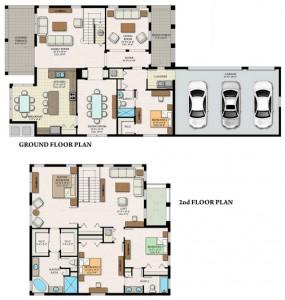 Danby Floor Plan in Maple Ridge Ave Maria