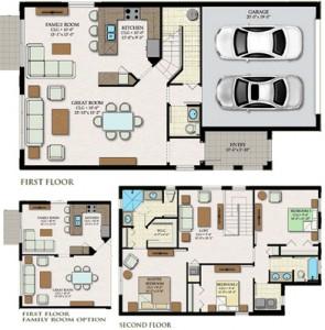 Doheny Floor Plan