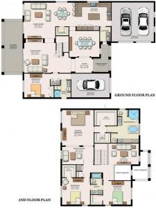 Maple Ridge Elsinore Floor Plan at Ave Maria Naples Real Estate