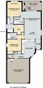 Del Webb Naples Noir Coast Floor Plan