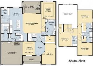 Hampton Village Floor Plan Weatherford