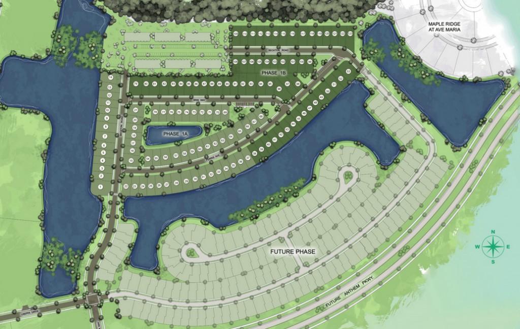 Coquina Site Plan