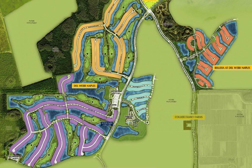 Del Webb Naples Site Plan