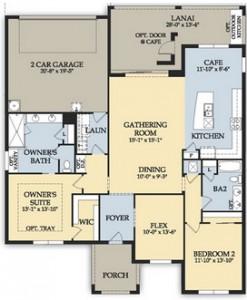 Ave Maria Hampton Village Home Design