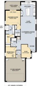Taft Street Floor Plan Ave Maria Naples Real Estate