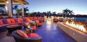 Fire pit club house azure bonita bay