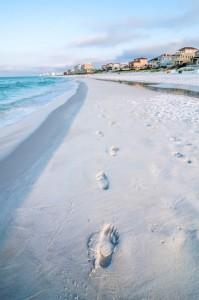 Little Hickory Island Beach Park near Barefoot Beach Florida.