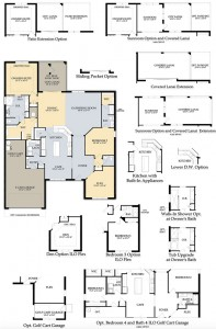 Tangerly Oak floor plan