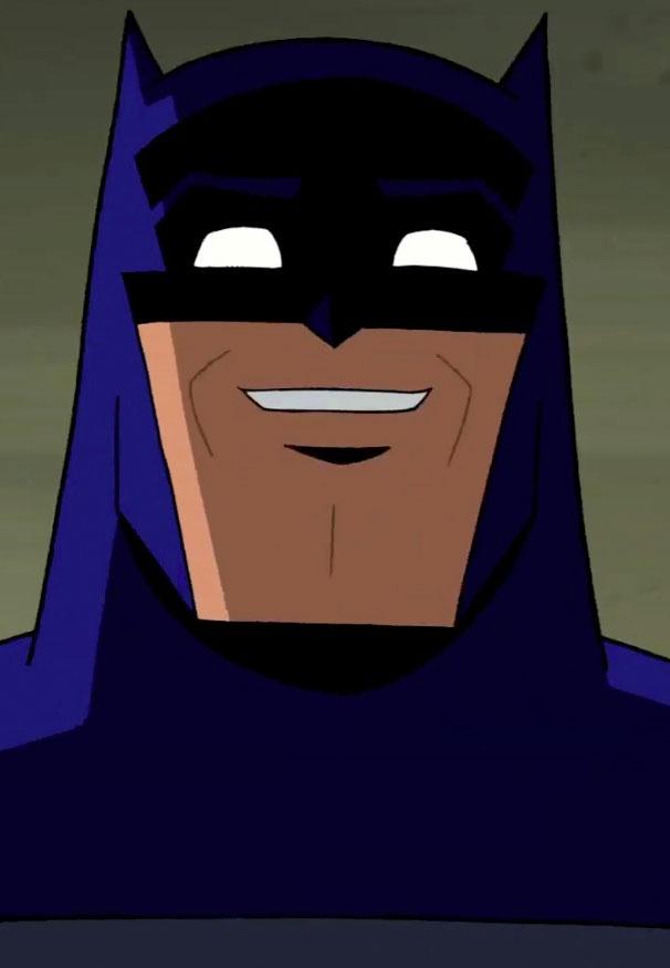 Batman is happy
