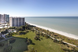 The view from a high rise condo in naples florida
