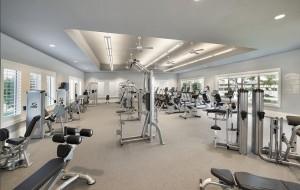 Corkscrew Shores fitness center