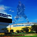 Germain Arena is only moments from Miromar Lakes