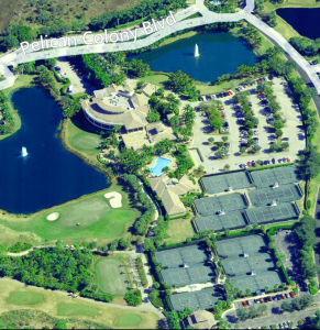 golf and tennis complex near Altaira of The Colony Golf & Bay Club