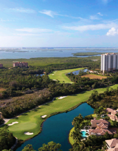 View from Altaira of The Colony Golf & Bay Club