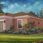 Esplanade Hacienda Lakes - Arezzo VII Floor Plan - Elevation A