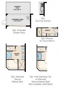 Esplanade Hacienda Lakes - Arezzo VII Floor Plan