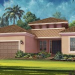 Esplanade Hacienda Lakes - Bella Casa VII Floor Plan - Elevation A