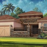 Esplanade Hacienda Lakes - Bella Casa VI Floor Plan - Elevation C