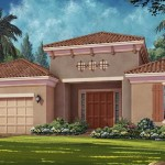 Esplanade Hacienda Lakes - Carrara VII Floor Plan - Elevation A