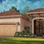 Esplanade Hacienda Lakes - Trevi VII Floor Plan (2 Car)