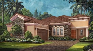 Luca home design at Esplanade Naples