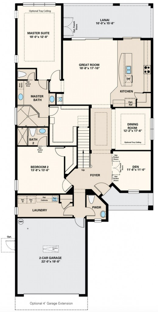 Trevi Floor Plan