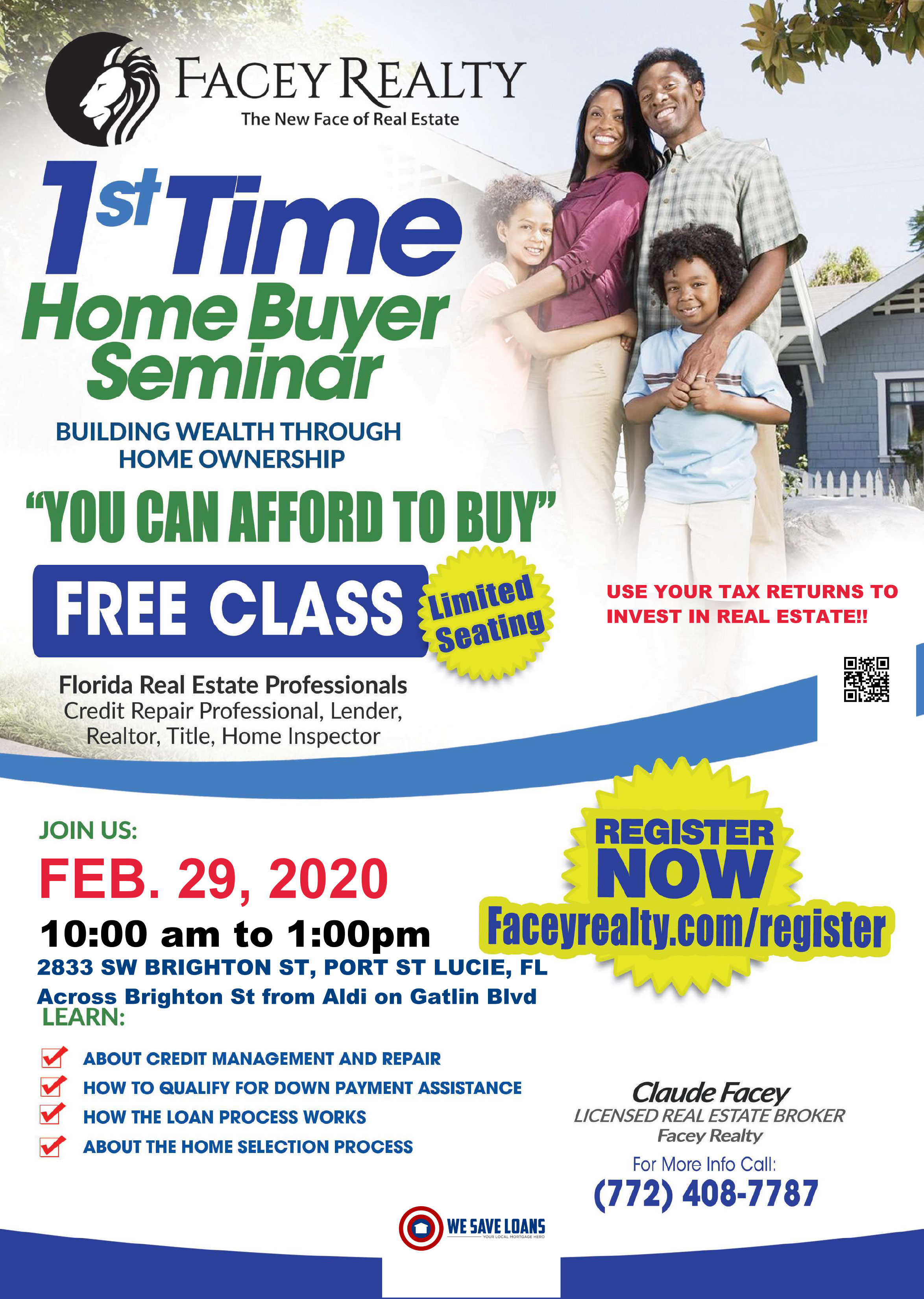 Ist Time Buyer Seminar_QR