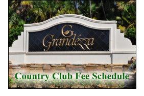 Grandezza Real Estate Golf Club Fees