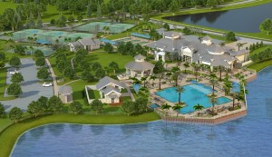 Greyhawk clubhouse rendering