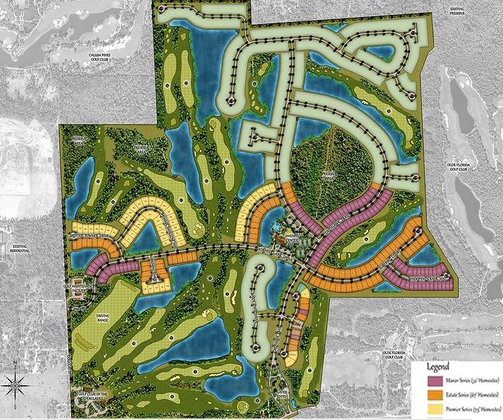 Naples Greyhawk Community Sitemap