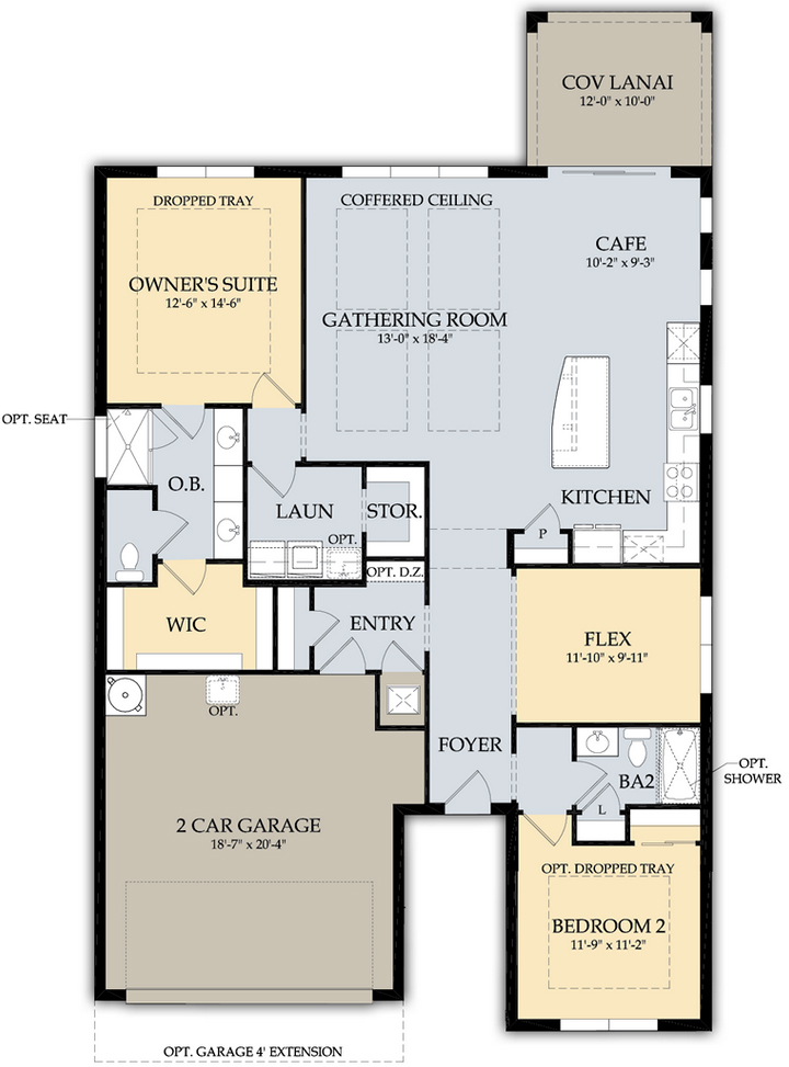 Greyhawk Naples Abbeyville Floor Plan