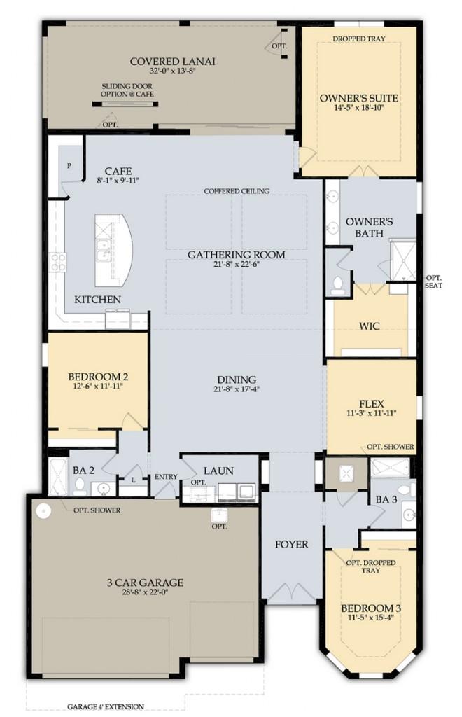 stonewater floor plan
