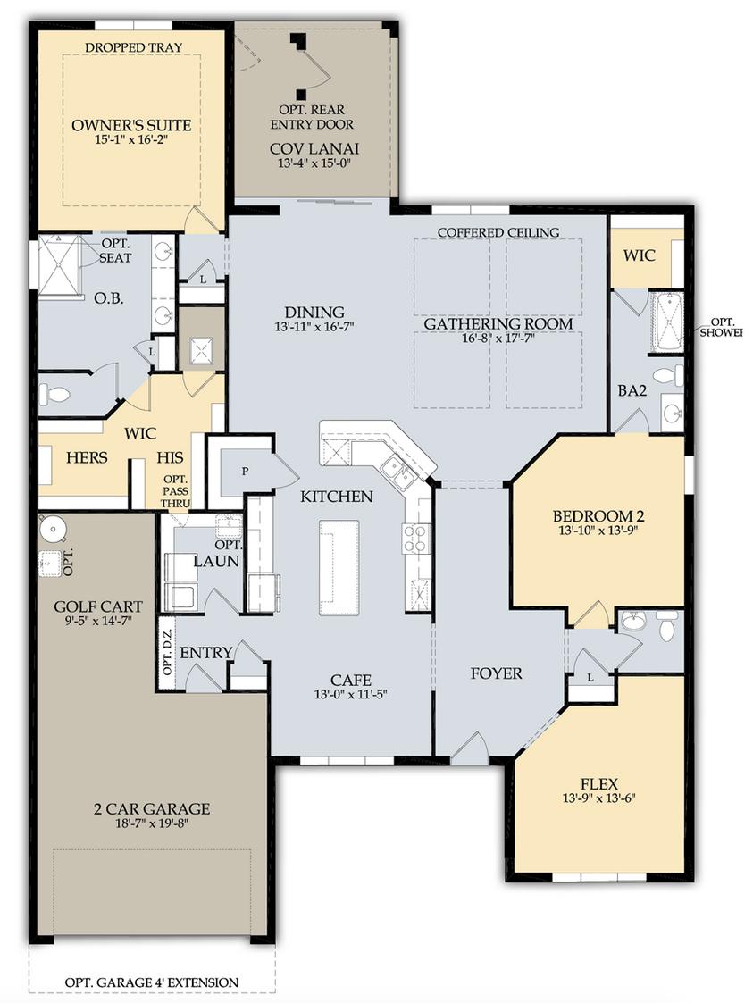 Tangerly Oak Floor Plan