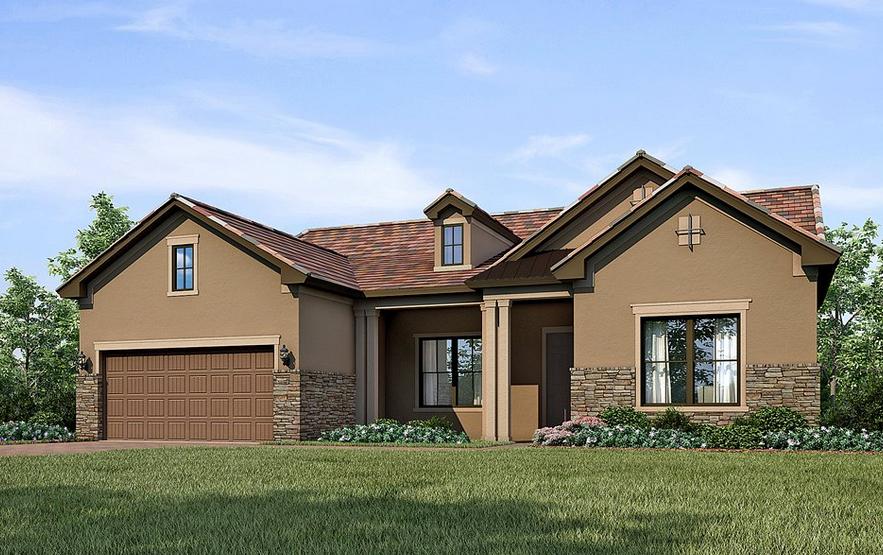 Tangerly Oak Home design