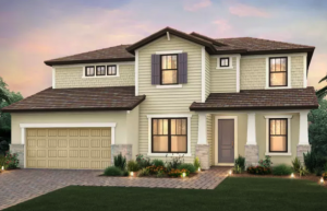 Vanderbilt - 4 bedrooms, 3 to 4 bathrooms, 2 car garage and more than 3,300 sqft is priced from $395,990