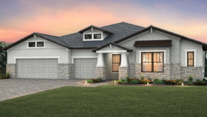 Nobility - 3 to 4 bedrooms, 3 to 4 bathrooms, 2 to 3 car garage and 2,908 sqft is priced from $427,990