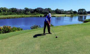 golfing at pelican landing