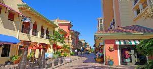 Shops along Cape Harbour