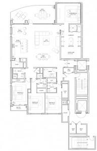 Floor Plans in Kalea Bay Naples