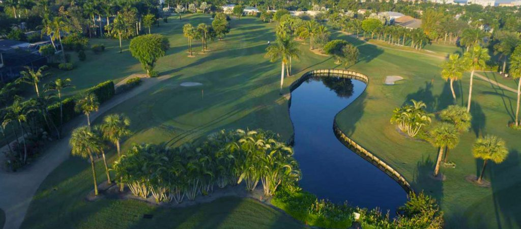 Golf course at Moorings Country Club