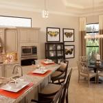 Lantana Olde Cypress - Jasmine II Floor Plan Kitchen Area