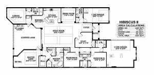 Lantana Olde Cypress - Hibiscus II Floor Plan